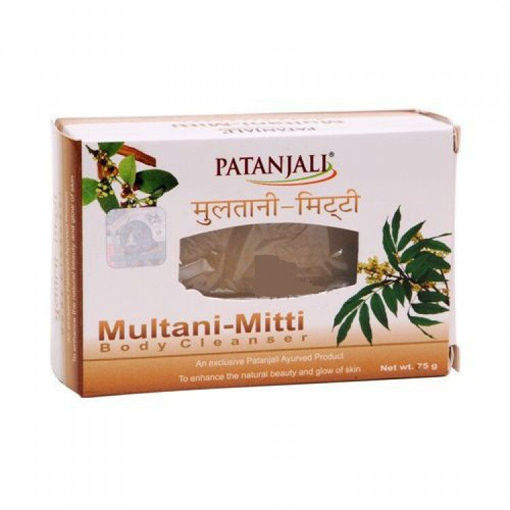 Picture of Patanjali Multani Mitti Body Cleanser, 75g