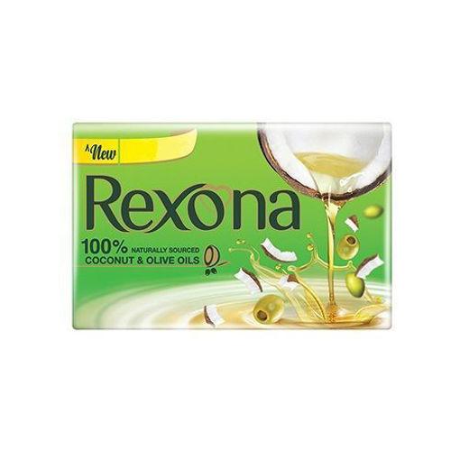 Picture of Rexona Coconut & Olive Oil Soap, 100 g