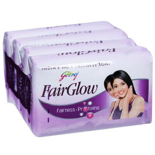 Picture of Godrej FairGlow Fairness + Proteins Soap 4 x 75 g