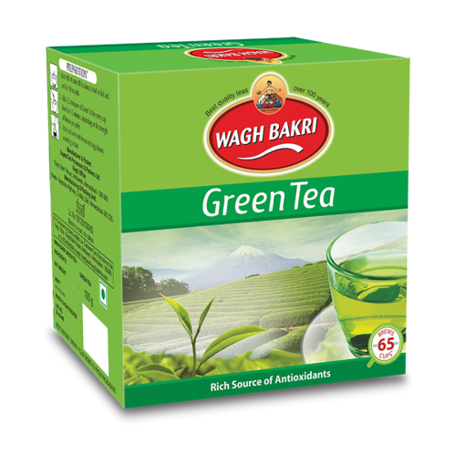 Picture of wagh bakri green tea 100gm