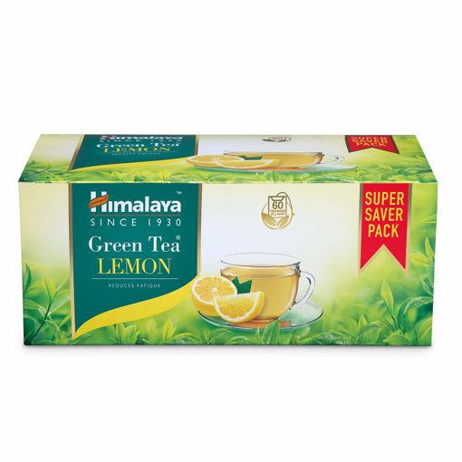 Picture of Himalaya Green Tea Lemon, 60 tea bags  (2 g Each) Envelopes