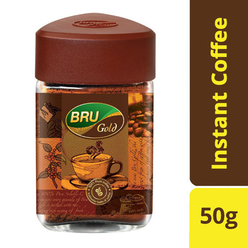 Picture of BRU Gold Instant Coffee, 50g