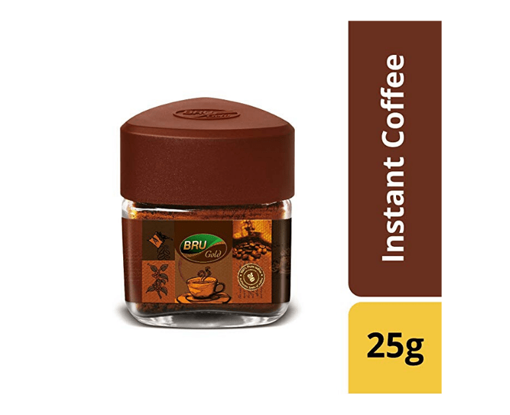 Picture of BRU Gold Instant Coffee, 25g