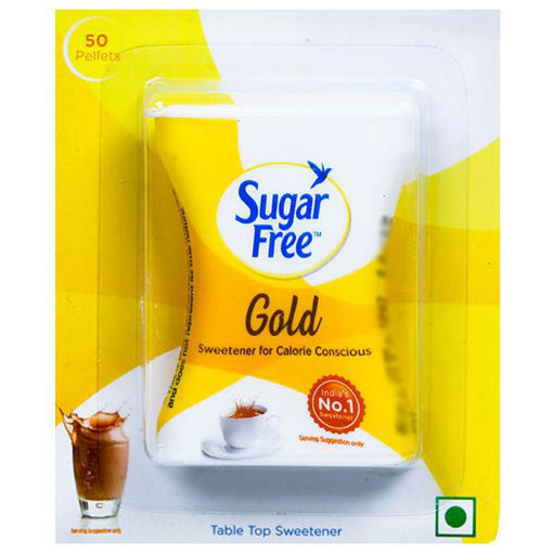 Picture of Sugar Free Gold Low Calorie Sweetener, 50 Pellets
