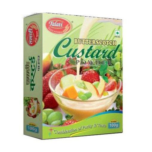 Picture of Talati butterscotch custard powder 100g