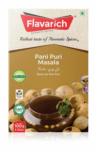 Picture of Flavarich Pani Puri Masala, 100 Grams