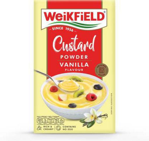 Picture of WeiKFiELD Vanilla Flavour Custard Powder  100g