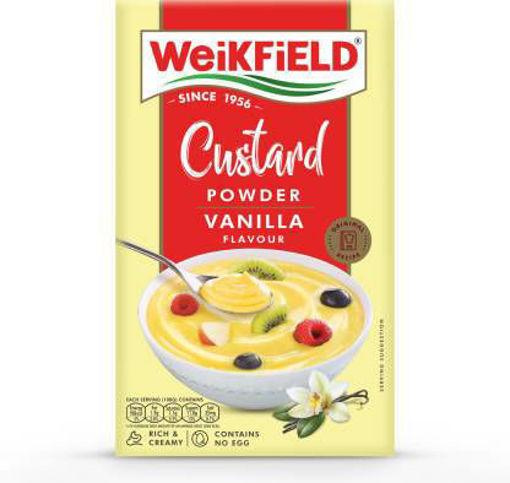Picture of WeiKFiELD Vanilla Flavour Custard Powder  500g