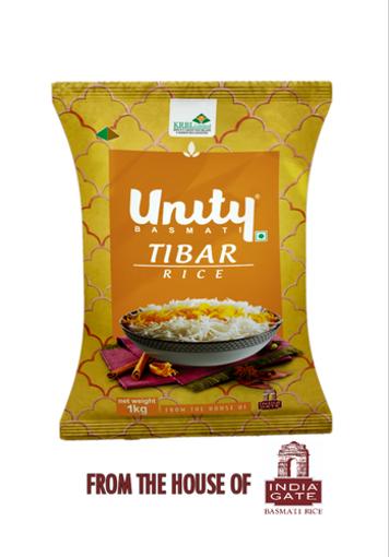 Picture of unity TIBAR basmati rice 1kg