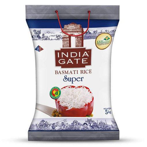 Picture of india gate super basmati rice 1kg