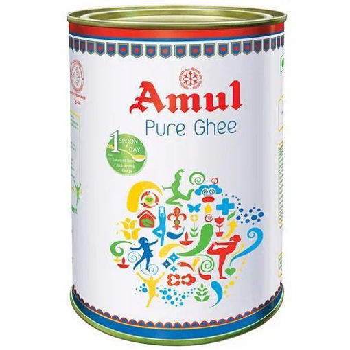 Picture of Amul Pure Ghee, 500ml (452g) Tin