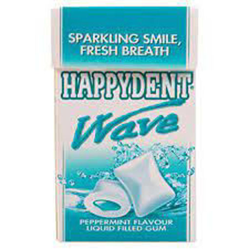 Picture of Happydent Wave Liquid Chewing Gum - Peppermint Flavour Liquid Filled Gum