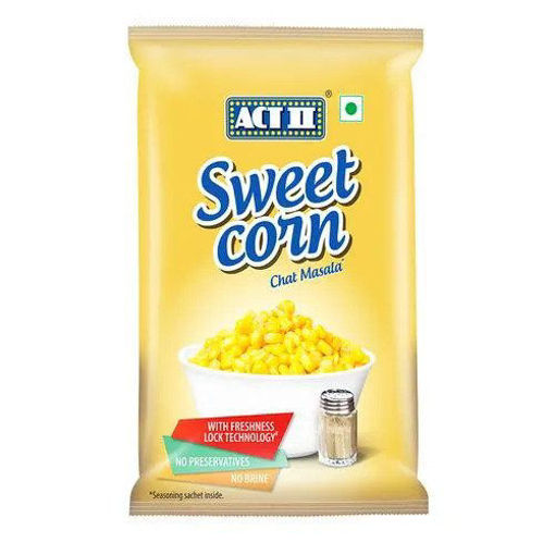 Picture of ACT II Sweet Corn - Chaat Masala, 121.5 g