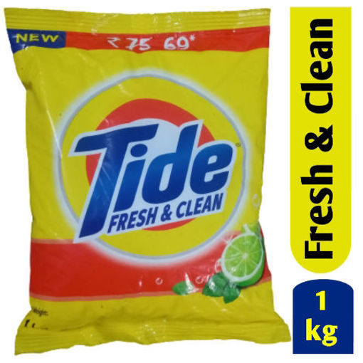 Picture of Tide Fresh And Clean Detergent Powder, 1kg