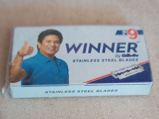 Picture of Winner By gillette stainless steel Blades Rs 8 ( 5N )
