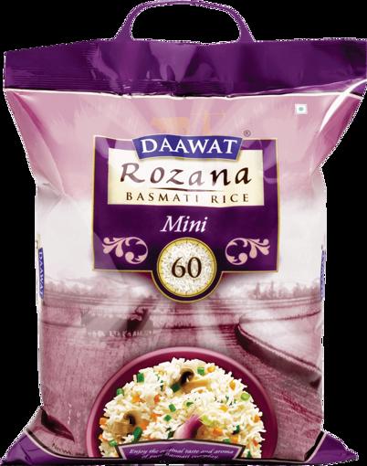 Picture of Daawat Rozana TUKDA MINI 60 Basmati Rice 1kg Khulla Packet