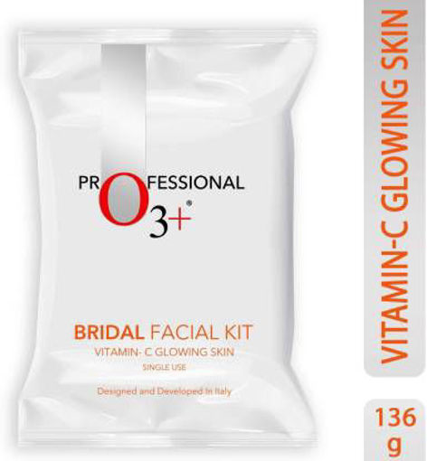 Picture of O3+ PROFESSIONAL BRIDAL FACIAL KIT VITAMIN C(10*12GM)