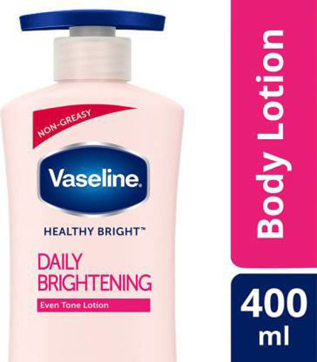 Picture of VASELINE DAILY BRIGHTENING EVEN TONE LOTION 400 ML