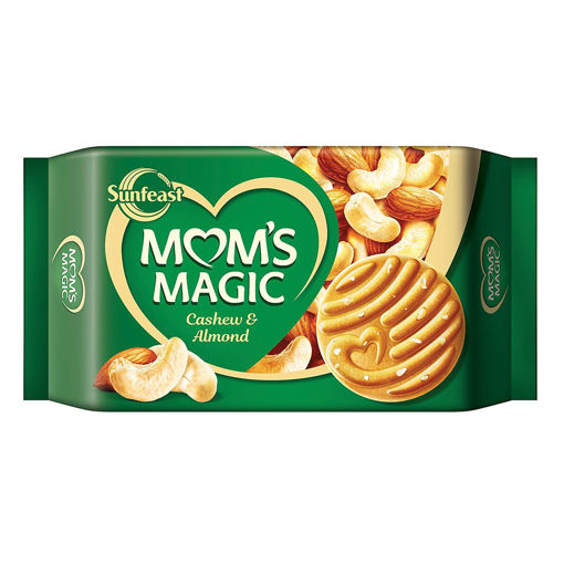Picture of SUNFEAST MOMS MAGIC CASHEW AND ALMONDS BISCUITS 600GM