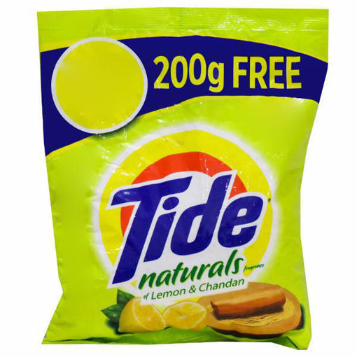 Picture of TIDE NATURALS DETERGENT POWDER 1KG( 800GM+200GM FREE)