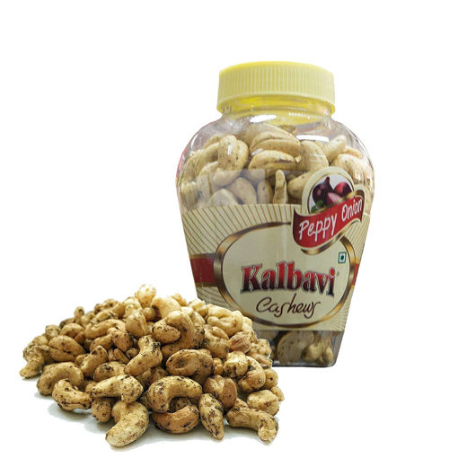 Picture of Kalbavi Cashew Kernels, Chatpata Chaat, Jar, 250g