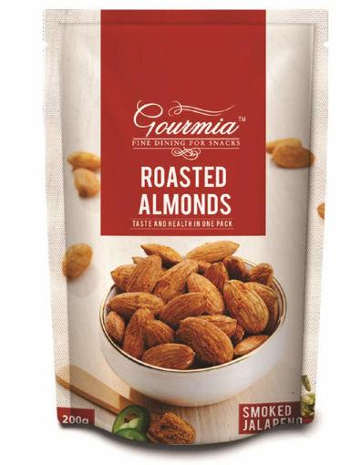 Picture of Gourmia Roasted Almonds Smoked Jalapeno, 200g