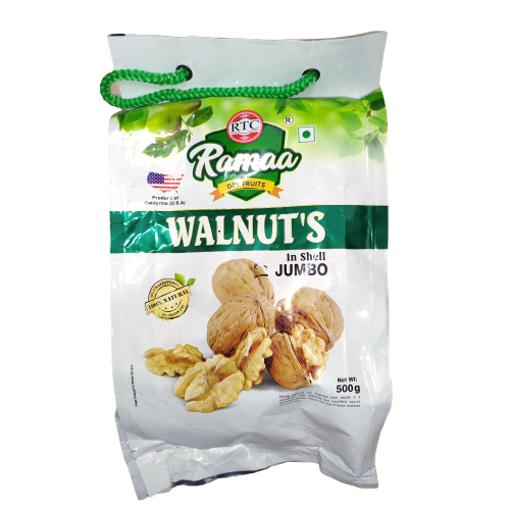 Picture of Ramaa Shelled Walnuts (Akhrot Sabut), 500g