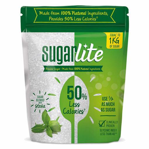 Picture of Sugarlite : 50% Less calories Sugar, 500g Pouch