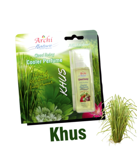 Picture of Archi Nature Good Living Cooler Perfume Scent - Khus