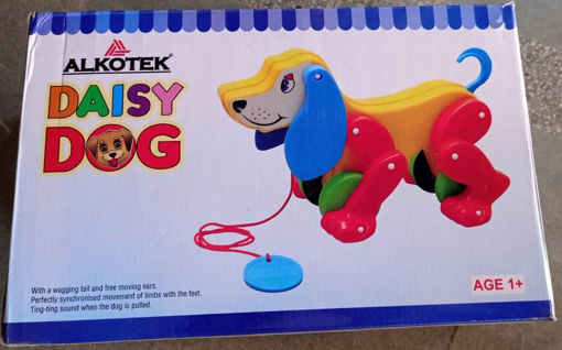 Picture of Daisy dog with ting ting sound