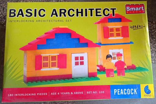 Picture of Interlocking architectural set for kids 4 year and above