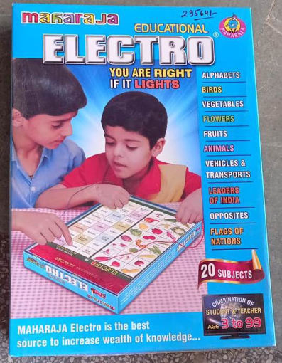 Picture of Educational electro for kids knowledge
