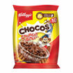 Picture of Kellogg's Chocos Crunchy Bites, Source of Fibre, Source of Calcium, High in Protein, with 10 Essential Vitamins & Minerals, Breakfast Cereals, 26g Pack