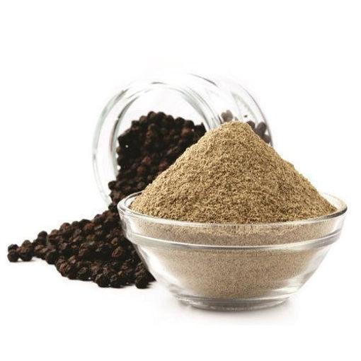 Picture of काली मिर्च सफेद पाउडर  kali mirch Safed powder, Black Pepper Powder , 100g