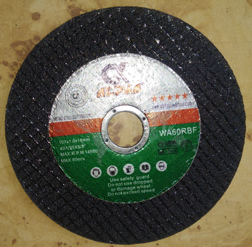 """Picture of Alpha cut off wheel 4"""" inch"""